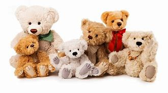 Several Teddy Bears in Group