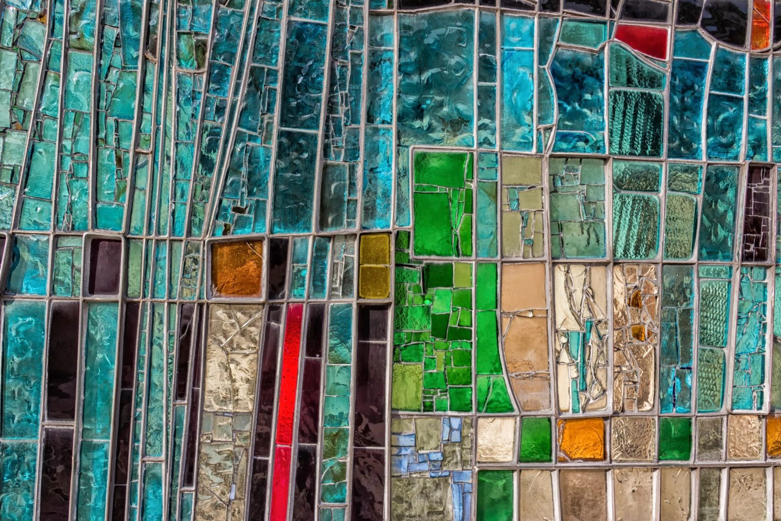 Shapes of Stained Glass