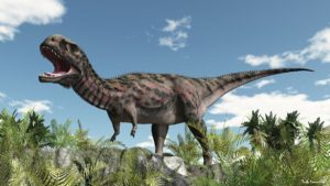 Majungasaurus One of the Last Dinosaurs