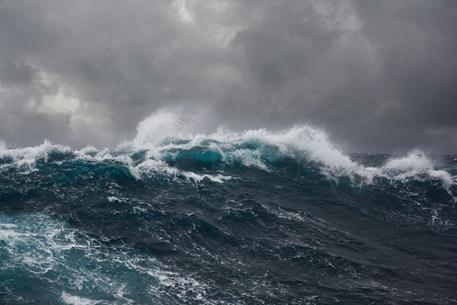 Waves of an Angry Ocean