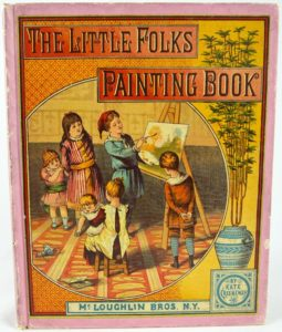Earliest Known Coloring Books