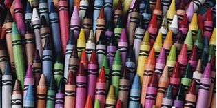 Colorful Crayon Collection