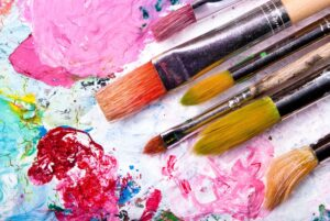 Paints and Brushes