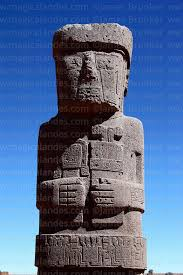 Ponce Monolith in Peru