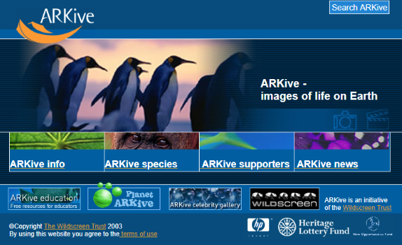 ARKive Project